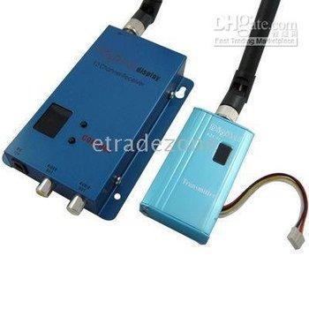 Wireless AV Transmitter/Receiver System 1.5G 1500mW 12ch