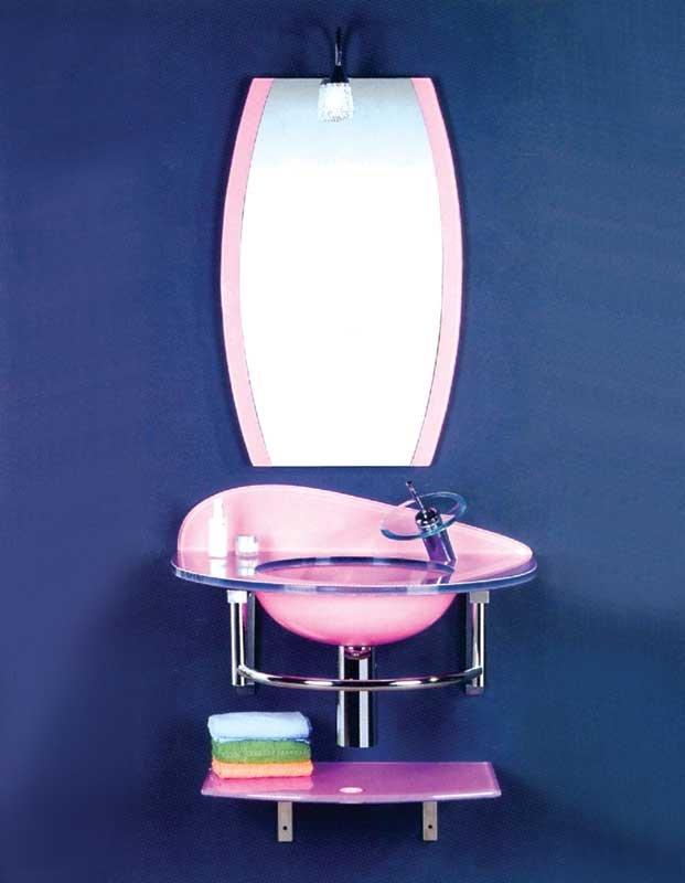 Lavabos Vidrio Para Baño:15 mm espesor de vidrio templado de vidrio cuenca baño lavabo