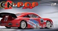 RC car racing car Nitro gas 1:10 18CC 4WD  2-speed radio remote control model car toys free shipping