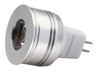 MR11 LED Spot light, 1*1W;AC/DC12V input;Warmwhite