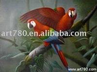 Art frame animal oil painting