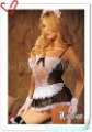 New arrival Free shipping sexy costume sexy maid dress sexy club wear size L G string.summ into the adult industry.