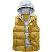 New arrival autumn winter candy color fashion men's vest casual warm waistcoat for men lovers vest 5 colors