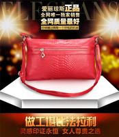 Free shipping 2014 genuine leather small bags women's handbag cross-body mini cross-body  clutch cowhide one shoulder