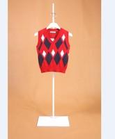 Children's clothing vest child vest male child vest male female child sweater vest sweater
