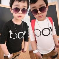 Ploughboys children's clothing 2014 popular male child boy print t-shirt 0034