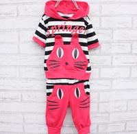 Ploughboys children's clothing child summer cat set 0007