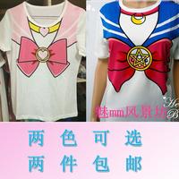 Soft HARAJUKU juniors 20 100% bow cotton t-shirt
