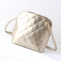 2014 shell bag fashion women's handbag dimond plaid shoulder bag cross-body bag shoulder bags women's trend