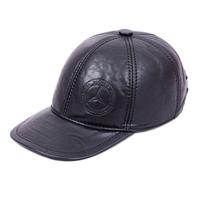 Cowhide hat genuine leather male quinquagenarian general baseball cap casual cap outdoor
