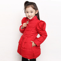 children's clothing child wadded jacket 2014 winter thickening child outerwear cotton-padded jacket cotton-padded