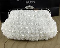 2014 pearl bag luxury diamond womem handbag evening bag day clutch bride and bridesmaids women's handbag small bags