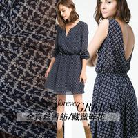Hot selling pure silk chiffon fabrics free shipping silk chiffon sewing material