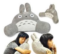 High-quality Large Lovely Totoro Multifunctional Cushion Pillow kaozhen Car Nap pillow waist support cushion lumbar CE