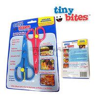 2014 Hot Selling baby food scissors Tiny bites baby food supplement baby food supplement scissors lead-free scissors