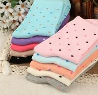 Candy dot polka dot socks cotton socks