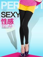 Rompers silk legging female stockings black pantyhose socks plus velvet pants autumn and winter gift