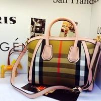 bolsa de franja 2014 women canvas handbag fashion female designer brand cross body bags portable dumpling stripe shoulder bag