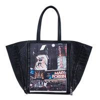 Autumn new arrival 2014 fashion print picture package big bag women's handbag shoulder bag handbag