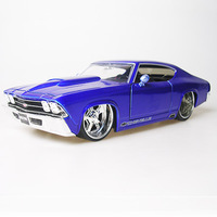Best Sale American Muscle Car 1:24 High Artificial Car Model Collectable 1969 Chevelle SS Popular Car Toy Free Shipping