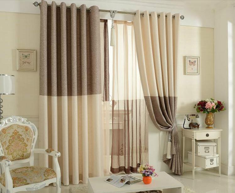 Compra elegantes cortinas online al por mayor de china - Visillos para salones ...