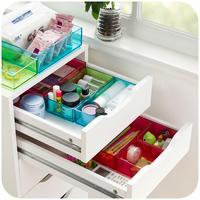 Miscellaneously drawer finishing box transparent classification multi-purpose storage box