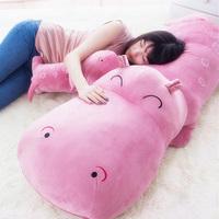 Free shipping 60cm/1pcs Hippopotami pillow large dolls cute doll cloth doll plush toy birthday gift girls