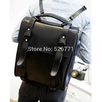 Hot-selling big vintage PU soft leather retro Shoulder Bag student fashion bag