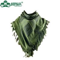 Outdoor hiking camping arab scarf tactical scarf 100% cotton bandanas clothing