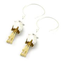 Handmade earrings 925 silver earrings unique