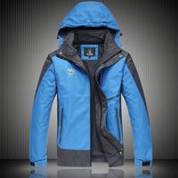 2014 Autumn men's outdoor jacket male windbreaker waterproof windproof quick dry Plus size XL XXL XXXL 4XL,Camping & Hiking 599