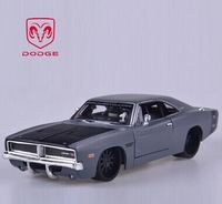 High Imitation 1:24 Dodge 1969 Challenger Muscle Car Model Collectable Car Decoration Children Popular Car Toys Free Shipping