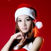 L Christmas decoration gift quality christmas hat plush