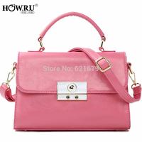 Women's handbag 2014 vintage casual solid color one shoulder cross-body handbag