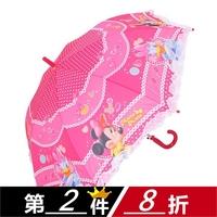 Primary school students princess umbrella poleaxe cartoon child umbrella sun-shading sun umbrella