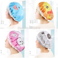 Cartoon shower cap japanese style waterproof bath cap shampoo cap