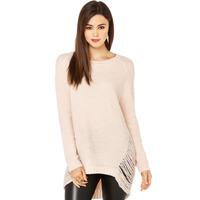 2014 Autumn Women's Fashion Retro Cutout Raglan Sleeve Rib Knitting Dovetail Sweep Hip Slim Warm Sweater