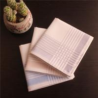 Free shipping male handkerchief 100% cotton handkerchief light color gentleman favorite gift