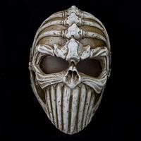 High quality Irregular bones Resin Mask Horrible Devil Halloween Party gift Cosplay props Mask 29*20cm 650g Free shipping