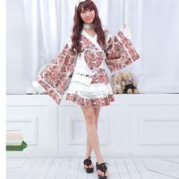 Glp japanese style kimono bathrobes uniform kimono game uniforms the temptation to set 61283