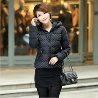 The new 2014 special women's cotton coat of cultivate one's morality down cotton-padded jacket big yards short winter jacket