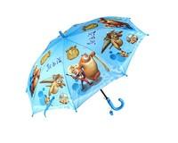 Child umbrella cartoon small umbrella long handle children umbrella primary school students sun protection umbrella princess