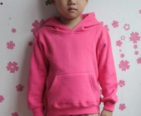 Wholesale: 2014 autumn/spring/winter basic baby fleece sweatshirt  thickening velvet hoodies with hat, 20pcs/lot