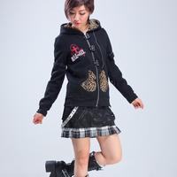 Glp 2014 street punk fashion outerwear slim female slim unisex punk decoration outerwear 71303