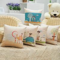 Sofa cushion lovers fluid brief  pillow
