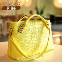 Women's bags fashion 2014 Crocodile women's for fashion handbag one shoulder cross-body handbag
