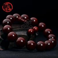 Bracelet ultra high lobular red sandalwood beads bracelets 15mm male Women bracelet