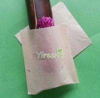 1000pcs/lot Heat sealing tea bag 58 X 62mm, pulp color filter bags, no bleach, no strings, disposable empty tea filters bags