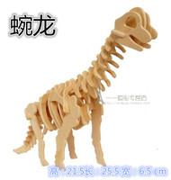 Wooden child puzzle diy assembling model series 3d puzzle toy