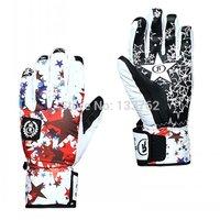 Outdoor skiing ski gloves Women windproof waterproof